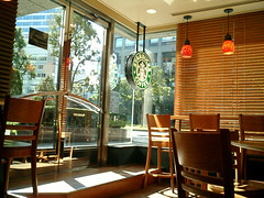 Starbucks @ Yokohama Landmark Plaza