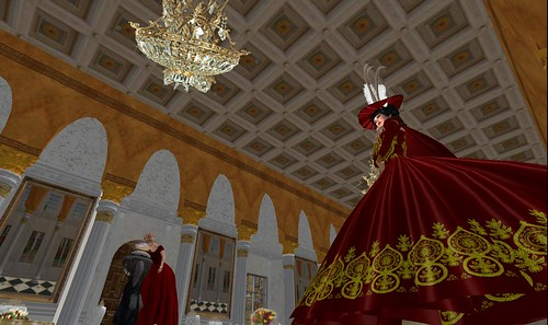 architecture, ballgowns at wilanow