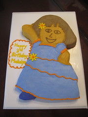 Dora birthday cake cincinnati ohio