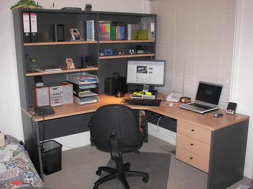 My home office (early Dec 2009)