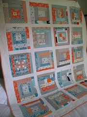 Blue Daze - Front View (One Flew Over...) Tags: aroundtheblock munkimunki denyseschmidt lecien heatherross printscharming quiltingbee konasolid