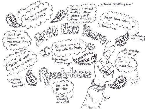 2010 New Year's Resolutions