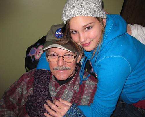 Grandpa Bill and Sammie