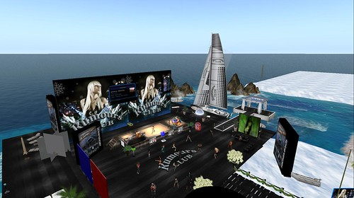 rumours club virtual world second life