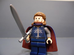 Return of The King: Aragorn (Silentmaster OO5) Tags: lego brickforge mmcb fineclonier