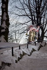 kristjan juur at bastion (Silver Soe) Tags: tallinn estonia snowboard bastion lumelaud piupauliveee