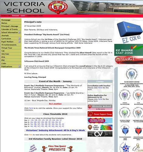 VS Web Page