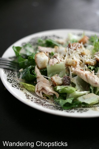 Caesar Salad with Chicken and Croutons 1