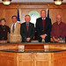 Ridgeland Town Council, Josehine Boyles, Grady Woods, Gary Hodges, Tommy Rhodes, Al Cleland, Far left Town Administrator Jason Taylor, Far Right Town Clerk Penny Daley January 2010