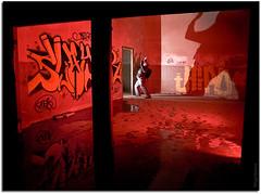 El Sótano del Terror (Sergio Marcos - www.sergiomarcos.es) Tags: light lightpainting sergio digital painting photography photo foto olympus fotos e3 fotografia marcos zuiko cantabria fotografía pintarconluz sergiomarcos