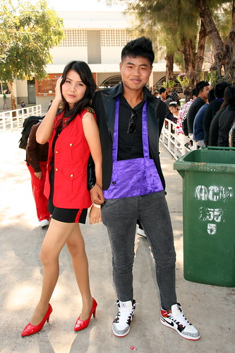 Thai Students Posing