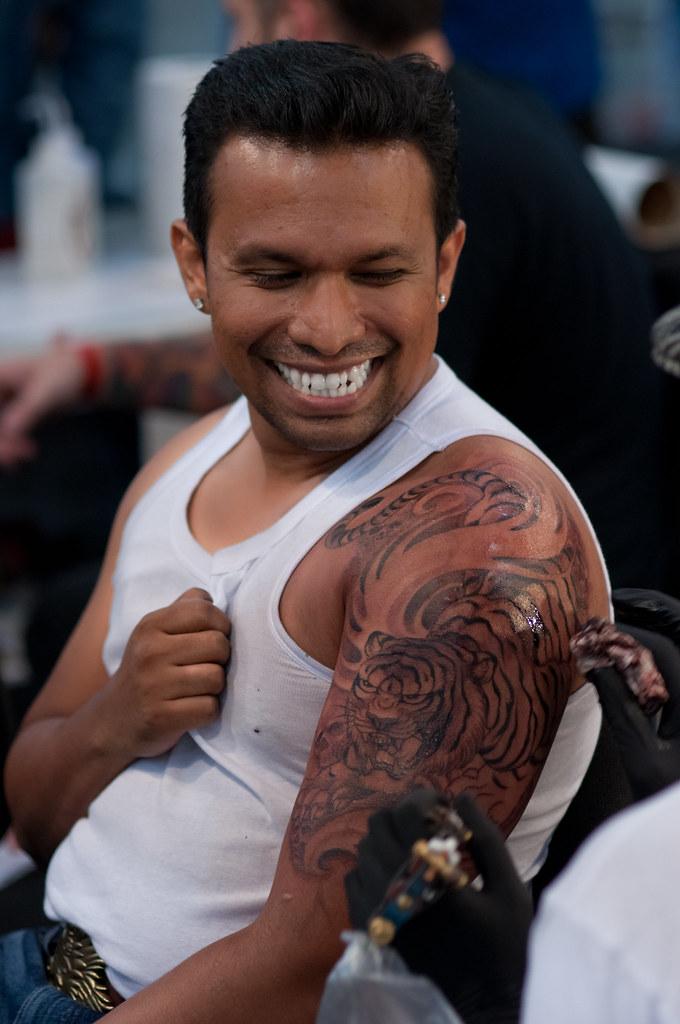 b43192109 Tiger Snarl (froisnaidu) Tags: show chris tattoo ink singapore miami tiger  garver