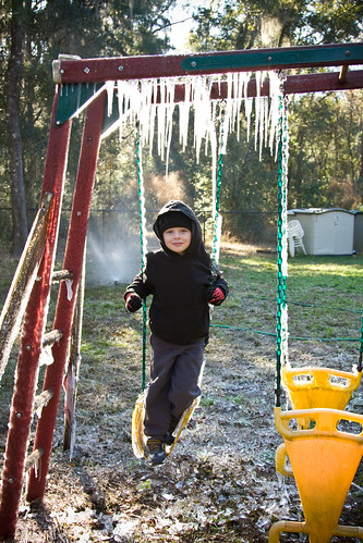Ice on the Swingset