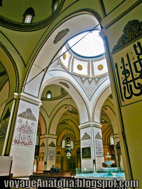 Inside Ottoman Mosque