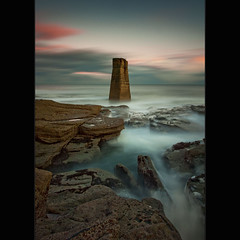 Central | Rangefinder (Reed Ingram Weir) Tags: longexposure sunset lighthouse art nikon rocks near rangefinder filter lee stmarysisland 10stop reedingramweirramble 06seg