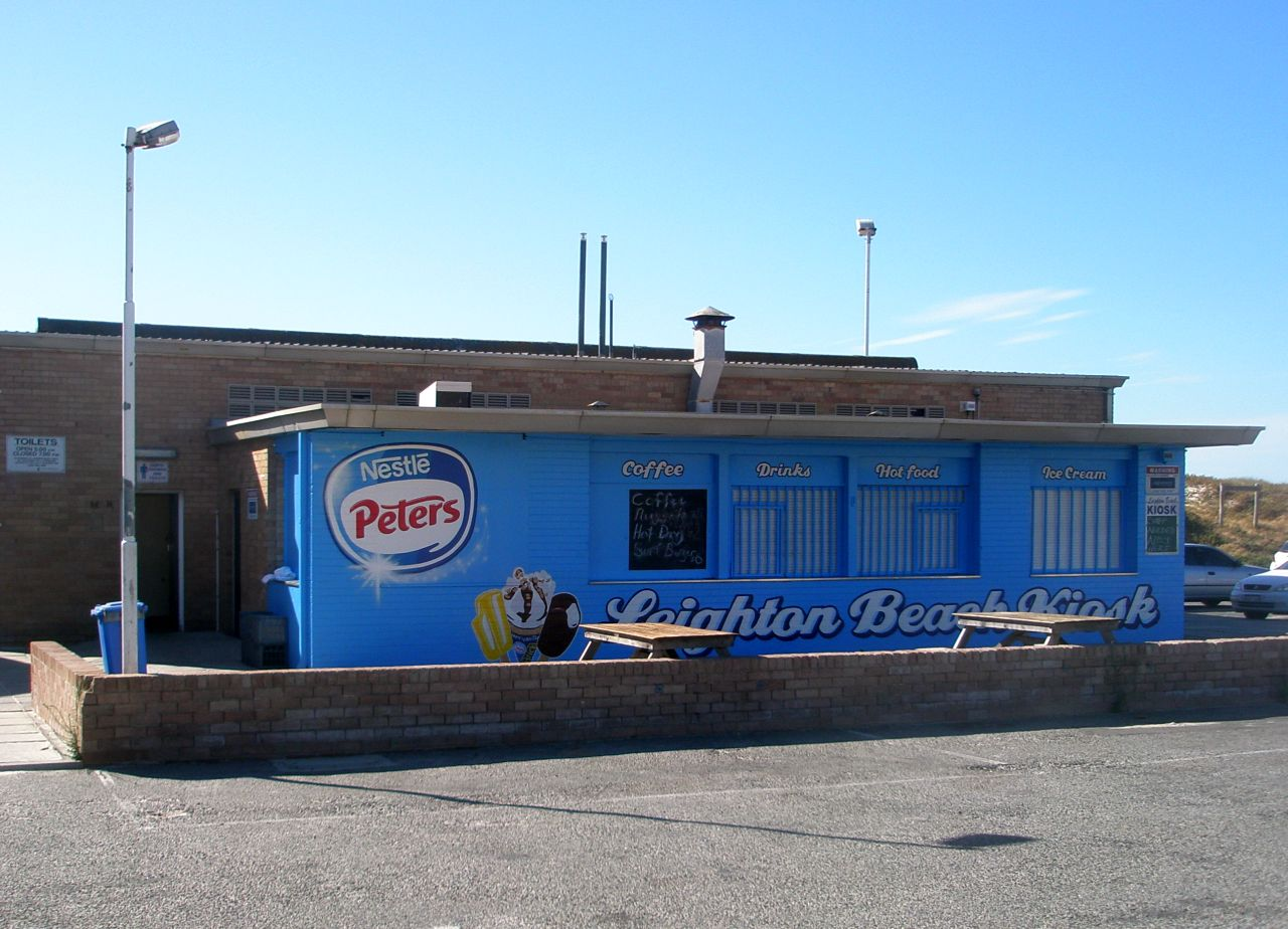 leighton beach kiosk lge