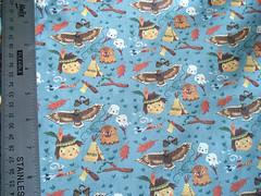 indian kid fabric (Christiane*) Tags: illustration print design kid pattern craft textile fabric acorn marshmallow etsy teepee buzzard spoonflower christianeengel