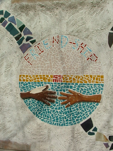 friendship mosaic