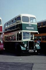 bus doubledecker weymann maidstonedistrict mdandeastkentbusclub hke867 bristolk6a