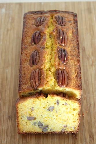 蜂蜜南瓜胡桃磅蛋糕