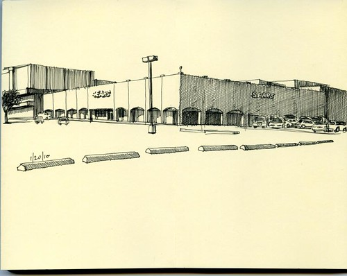 sears at the old central park mall