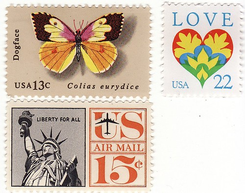 NEITHER SNOW VALENTINE STAMPS