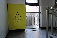 Entrance to the Hostel