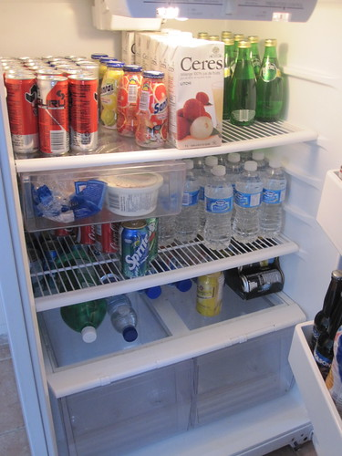Your typical business-creative fridge