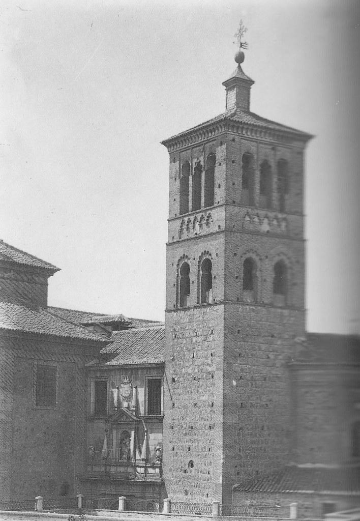Iglesia de San Román a inicios del siglo XX