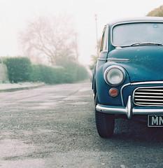 ( Dario ) Tags: morning winter cold film car analog nikon durham f4 2528 distagon zf kodakektar100 distagon2528zf
