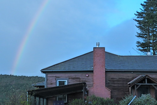 hostel under a rainbow