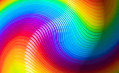 Colour Wobble (Canonshot Mole) Tags: abstract color colour spring rainbow vibrant vivid slinky psychedelic