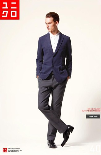 UNIQLO 0253_LOOK BOOK 2010 SPRING_Jakob Hybholt