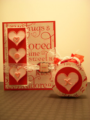 XOXO  Card and Gift Bag Set