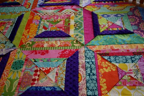 Carnival String Quilt