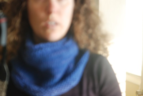my blurry cowl.