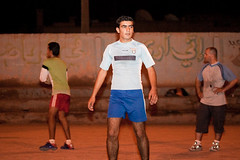 Handball training in Raqqa (Olivier Timbaud) Tags: arab syria handball youngman bodyhair hairyleg raqqa sportman blueshorts oliviertimbaud