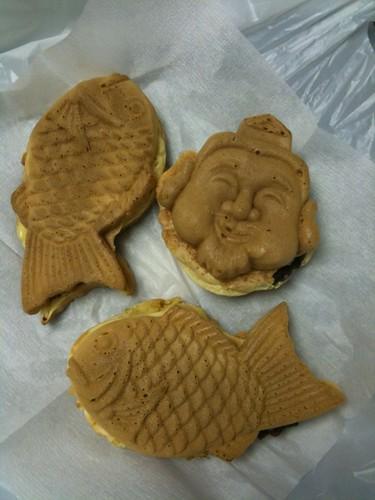 ちか八(恵比寿)の鯛焼き