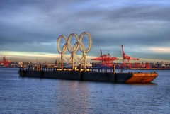 The Olympic Barge