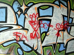 toy diss (ExcuseMySarcasm) Tags: street urban streetart art mi toy graffiti michigan detroit dissed handstyle marred irate