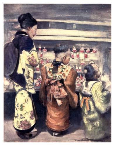 014-Puesto de refrescos-Japan  a record in color-1904- Mortimer Menpes