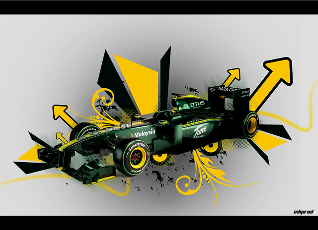 Lotus F1 by inkprod