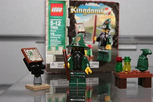 LEGO Toy Fair 2010 - Kingdoms - 7955 Wizard - 2 by fbtb.