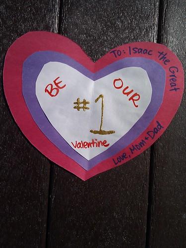Valentine to Isaac