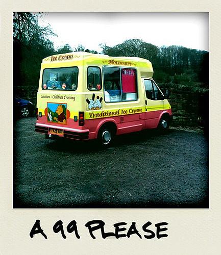 Ice-cream Van - Taken With An iPhone