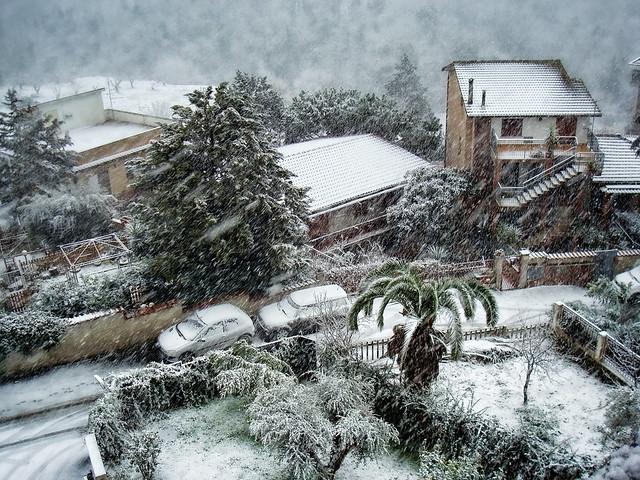 Neve a Roma 4