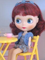 Fiona takes tea