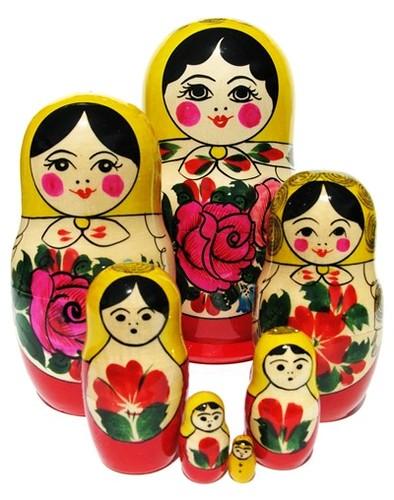 7pc_Semenov Beauties_Nesting_Dolls_2009_Reg