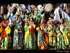 Colorful Celebration of Tuareg ! (Bashar Shglila) Tags: people sahara festival night