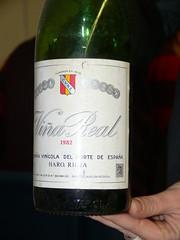 Viña Real 1982, CVNE, DO Rioja.
